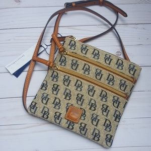 Dooney & Bourke North South Triple Zip Crossbody